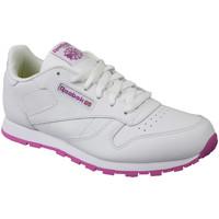 Boty Děti Nízké tenisky Reebok Sport Classic Leather blanc
