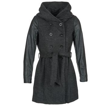 Textil Ženy Kabáty Only MARY LISA Šedá