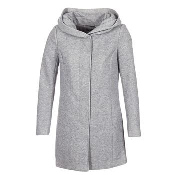 Textil Ženy Kabáty Only SEDONA Šedá
