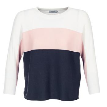 Textil Ženy Svetry Only REGITZE Bílá / Růžová / Tmavě modrá