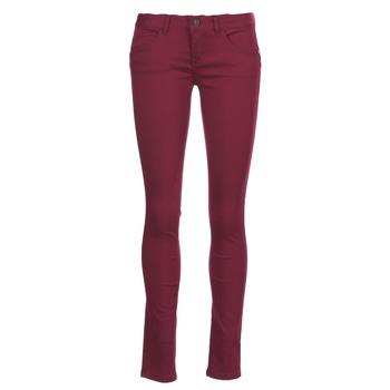 Textil Ženy Kapsáčové kalhoty Only LUCIA Bordó