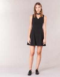 Textil Ženy Krátké šaty Moony Mood GUDU Černá