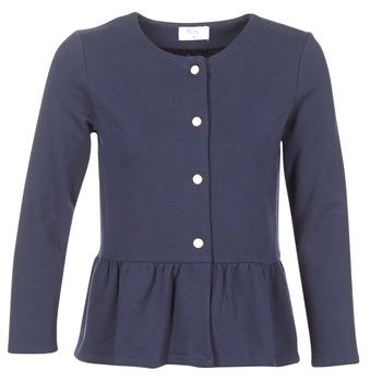 Textil Ženy Svetry / Svetry se zapínáním Betty London HABOUME Tmavě modrá