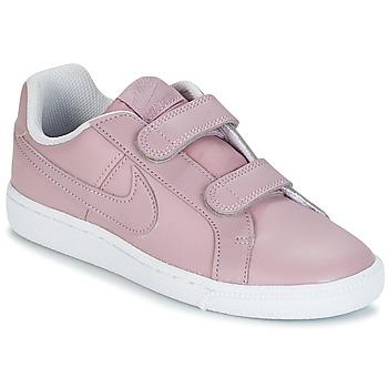 Boty Dívčí Nízké tenisky Nike COURT ROYALE CADET Růžová