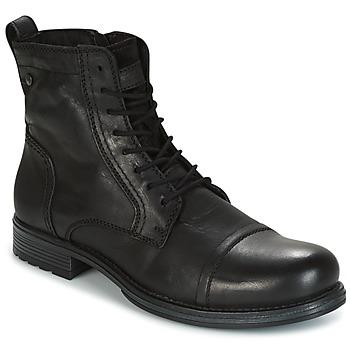Boty Muži Kotníkové boty Jack & Jones RISSOL Černá