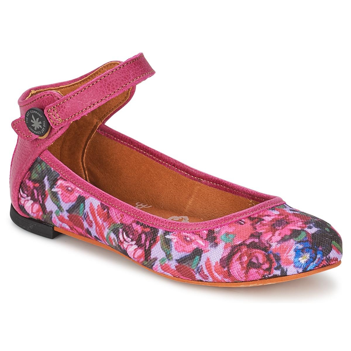 Baleriny Art LILLE Růžová