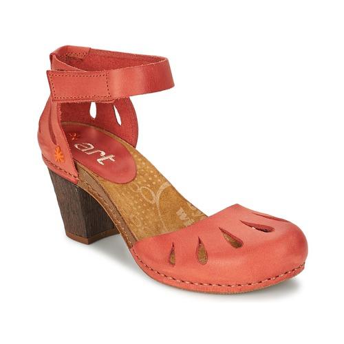 Boty Ženy Sandály Art IMEET Korálová