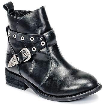Boty Dívčí Kotníkové boty Young Elegant People CALYPSOM Černá