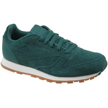 Boty Děti Nízké tenisky Reebok Sport CL Leather SG CM9079 Green