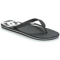 Boty Muži Žabky DC Shoes SPRAY M SNDL BLW Černá / Bílá