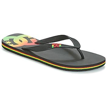 Boty Muži Žabky DC Shoes SPRAY M SNDL RST Černá