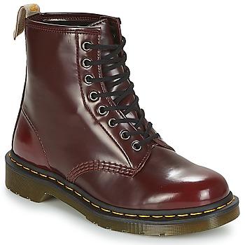 Boty Kotníkové boty Dr Martens VEGAN 1460 Červená