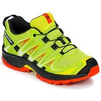 Boty Děti Multifunkční sportovní obuv Salomon XA PRO 3D J Žlutá / Černá