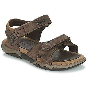 Boty Děti Sportovní sandály Timberland OAK BLUFFS Hnědá