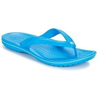 Boty Žabky Crocs CROCBAND FLIP Modrá