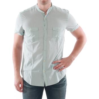 Textil Muži Košile s krátkými rukávy Antony Morato AMT05211 Verde claro