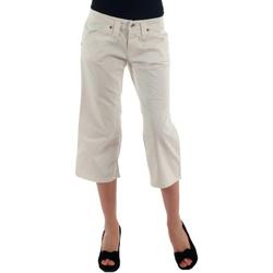 Textil Ženy Tříčtvrteční kalhoty Fornarina FOR00006 Blanco roto
