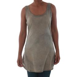 Textil Ženy Tílka / Trička bez rukávů  Fornarina BILSTON_GOLD Marrón