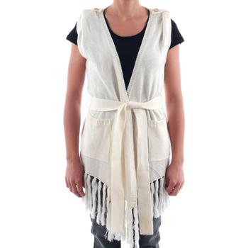 Textil Ženy Svetry / Svetry se zapínáním Nolita NOL03183 Blanco roto