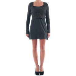 Textil Ženy Krátké šaty Nolita NOL03258 Gris oscuro