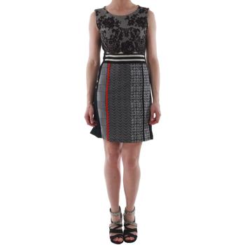 Textil Ženy Krátké šaty Rinascimento 82008_NERO Negro