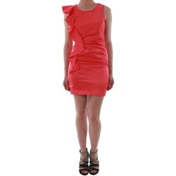 Textil Ženy Krátké šaty Rinascimento 2045/16_CORALLO_ROSSO Coral