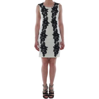 Textil Ženy Krátké šaty Rinascimento 1260/16M_PANNA_BIANCO Blanco roto