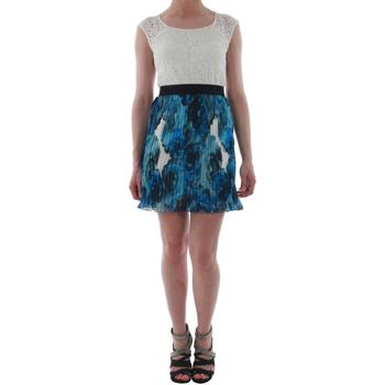 Textil Ženy Krátké šaty Rinascimento 1276/16M_BLU Blanco