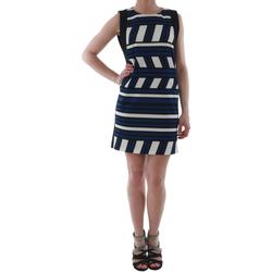 Textil Ženy Krátké šaty Rinascimento 263023_BLUE_CINA Azul marino