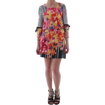 Textil Ženy Krátké šaty Rinascimento 1330/13A_BIANCO Estampado