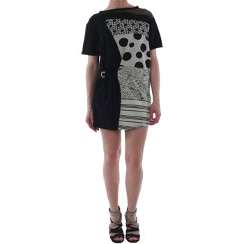 Textil Ženy Krátké šaty Rinascimento 82024_NERO Negro