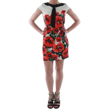 Textil Ženy Krátké šaty Rinascimento 1253/16A_ROSSO Blanco