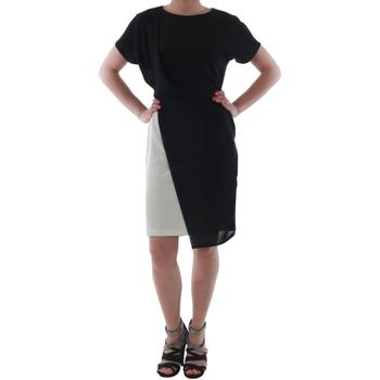 Textil Ženy Krátké šaty Rinascimento MIRANDA_BIANCO Negro