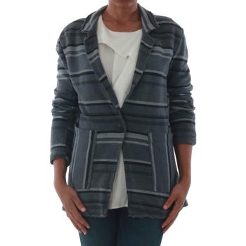 Textil Ženy Bundy Rinascimento 7445_GRIGIO Gris