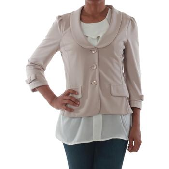 Textil Ženy Saka / Blejzry Rinascimento 1022_BEIGE Beige