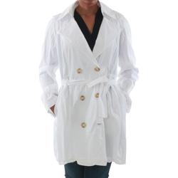 Textil Ženy Pláště Rinascimento 7540_BLANCO Blanco