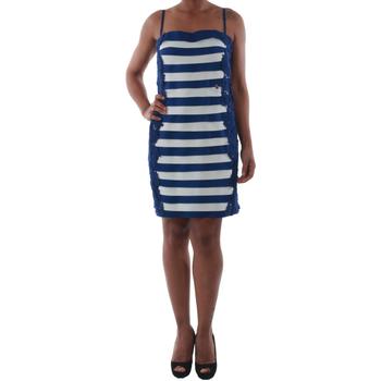 Textil Ženy Krátké šaty Rinascimento 322B.012_BLU Azul