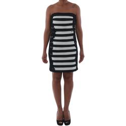 Textil Ženy Krátké šaty Rinascimento 322B.012_BIANCO Negro