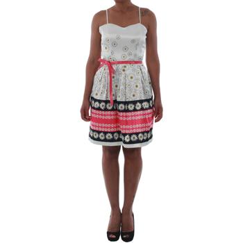 Textil Ženy Krátké šaty Rinascimento 1384/16M_FUXIA Blanco