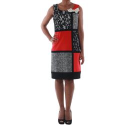 Textil Ženy Krátké šaty Rinascimento 7616A/B_CORALLO Negro