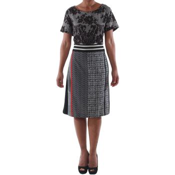 Textil Ženy Krátké šaty Rinascimento 9208/C_NERO Negro