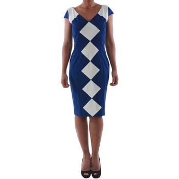 Textil Ženy Krátké šaty Rinascimento 241.012_BLU Azul