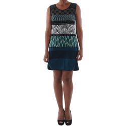 Textil Ženy Krátké šaty Rinascimento 82029_BLU Azul marino