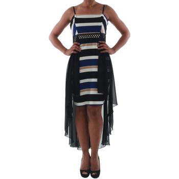Textil Ženy Krátké šaty Rinascimento PAINT/R_BLU Negro