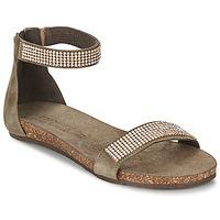 Boty Ženy Sandály Dixie GRAMMO Šedobéžová