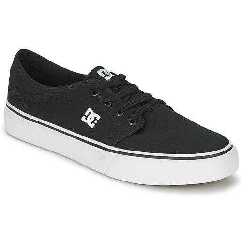 Boty Muži Nízké tenisky DC Shoes TRASE TX MEN Černá / Bílá