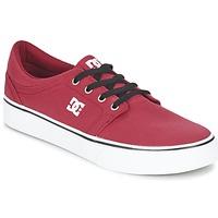 Boty Muži Nízké tenisky DC Shoes TRASE TX MEN Červená / Černá