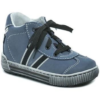 Boty Chlapecké Kotníkové tenisky Pegres 1401 Elite modré dětské botičky Modrá