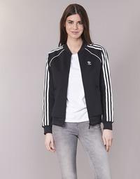 Textil Ženy Teplákové bundy adidas Originals SST TT Černá