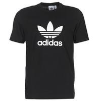 Textil Muži Trička s krátkým rukávem adidas Originals TREFOIL T SHIRT Černá